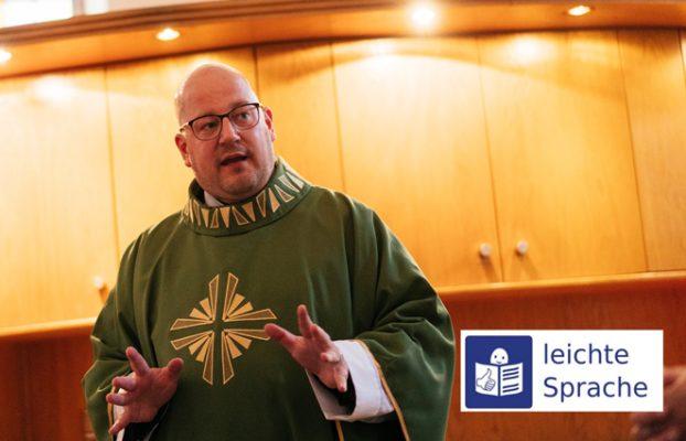 Gottesdienst in Leichter Sprache ist wichtig für P. Stefan M. Huppertz