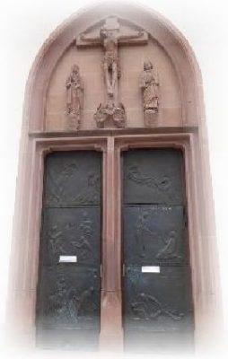 Kirchentür Liebfrauen